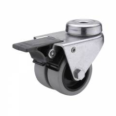 Dual Wheel Locking Casters