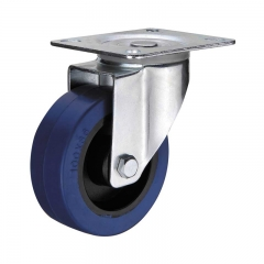 Elastic Rubber Caster Wheel