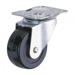 3 swivel caster with brake