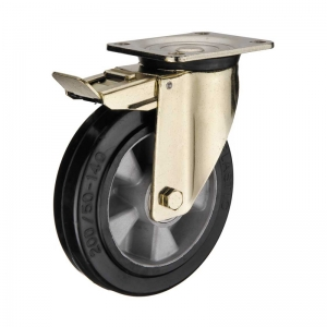 Heavy Duty Caster Wheels With Brake