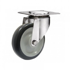 Polyurethane  stainless steel caster wheels