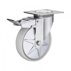 Industrial Caster Wheels With Brakes