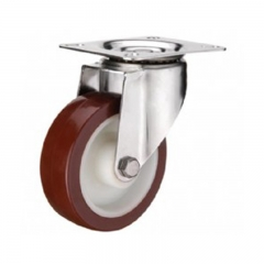 Red Polyurethane Casters