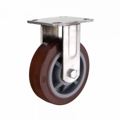 Heavy Duty Polyurethane Wheel On Steel