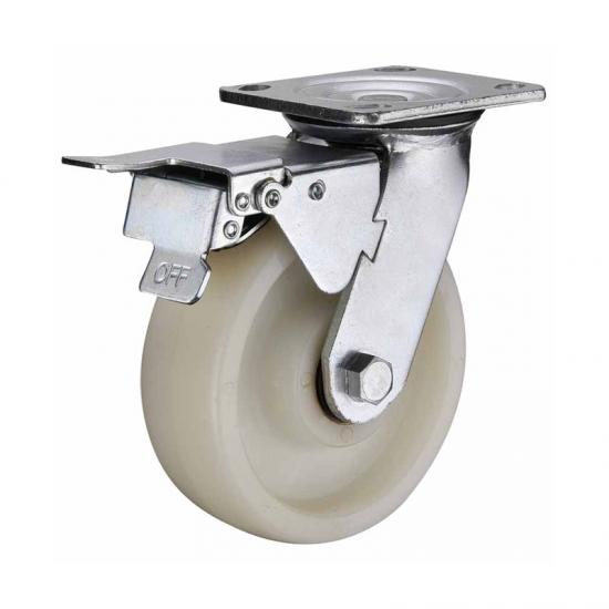 Heavy Duty 700kg Nylon Wheels For Trolley China Heavy Duty