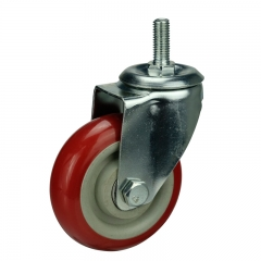 All Weather PVC Threaded Caster Wheels