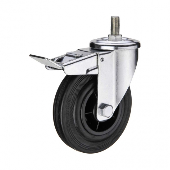 5 Inch Threaded Stem Casters