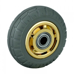 4 Inch Solid Rubber Wheels