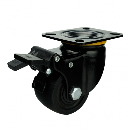 3 Inch High Capacity Low Profile Caster China 3 Inch High