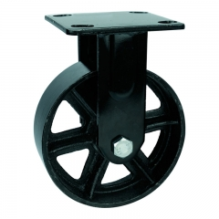 Cast Iron Casters With Brake