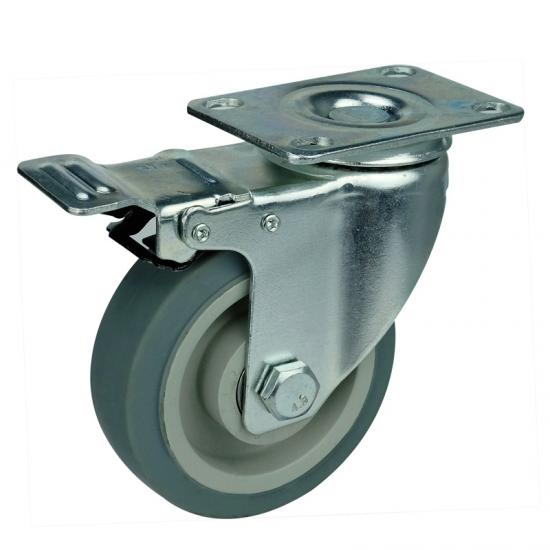 Medium Duty Swivel Equipment Moving Casters China Medium