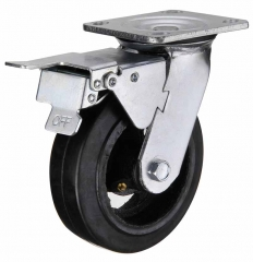 Rubber Swivel Wheels