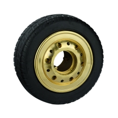 Elastic Rubber Single Wheel
