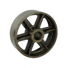 cast iron single wheel