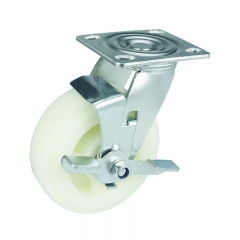PP Caster Wheel With Side Brake