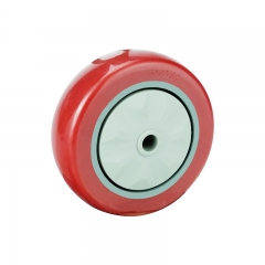 3 4 5 red PVC single wheel