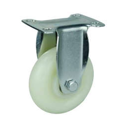 medium duty plastic rigid caster wheel