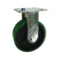 Polyurethane Rigid Caster Wheel
