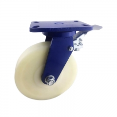 MC nylon swivel caster wheel heavy duty with brake