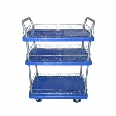 3 Layers Hand Truck Platform Trolley