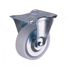 Industrial plastic PP caster wheel rigid