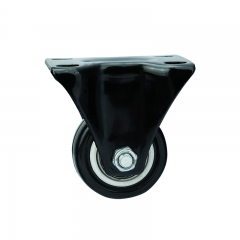 Light duty PVC rigid caster wheel