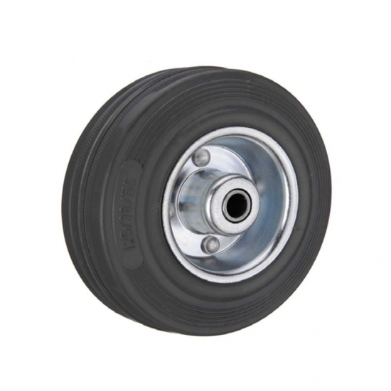 Gray rubber single wheel