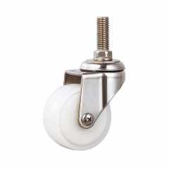 Light duty stainless swivel caster